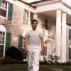elvis en blanc à Graceland