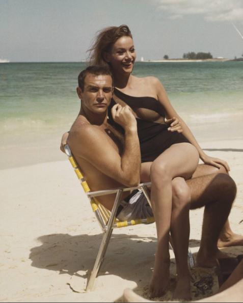 007 à la plage